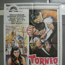 Cine: CDO 6533 TORNEO A MUERTE GORDON MITCHELL BELLA CORTEZ POSTER ORIGINAL 70X100 ESTRENO. Lote 222460427
