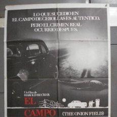 Cine: CDO 6550 EL CAMPO DE CEBOLLAS JOHN SAVAGE JAMES WOODS POSTER ORIGINAL 70X100 ESTRENO. Lote 222467392