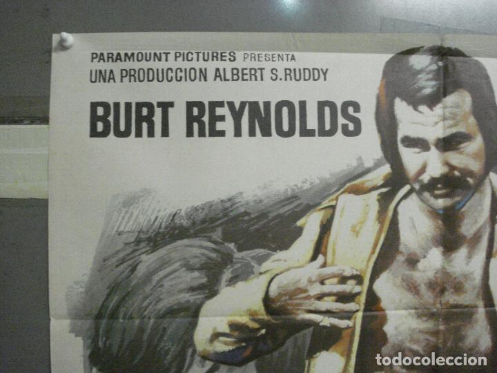 Cine: CDO 6560 ROMPEHUESOS BURT REYNOLDS FUTBOL AMERICANO MAC POSTER ORIGINAL ESPAÑOL 70X100 ESTRENO - Foto 4 - 222478472