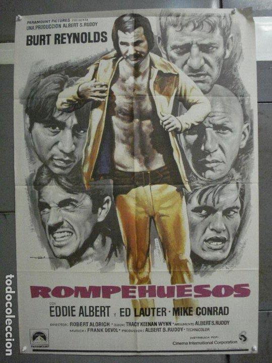 CDO 6560 ROMPEHUESOS BURT REYNOLDS FUTBOL AMERICANO MAC POSTER ORIGINAL ESPAÑOL 70X100 ESTRENO (Cine - Posters y Carteles - Deportes)
