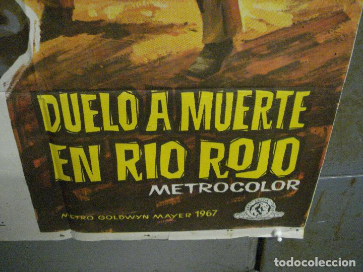 Cine: CDO 6571 DUELO A MUERTE EN RIO ROJO GLENN FORD ANGIE DICKINSON ESC POSTER ORIGINAL 70X100 ESTRENO - Foto 9 - 222483462