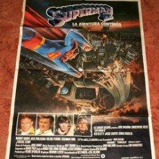 """Cine: POSTER DE CINE DE LA PELICULA """"SUPERMAN II"""". CHRISTOPHER REEVE. Lote 222494891"""