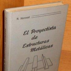 Cine: FIRMADO. EL PROYECTISTA DE ESTRUCTURAS METALICAS (I). CALDERAS. PUENTES GRUA. EDIFICIOS. SOLDADURA.. Lote 222496813