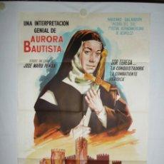 Cine: TERESA DE JESUS - 110 X 75 - 1971 - LITOGRAFICO. Lote 222526641