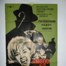 Cine: EL MAGO CONTRA SCOTLAND YARD - 105 X 70 - 1964 - PAPEL GRUESO - LITOGRAFICO. Lote 222526716