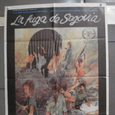 Cine: CDO 6579 LA FUGA DE SEGOVIA IMANOL URIBE POSTER ORIGINAL 70X100 ESTRENO. Lote 222537813
