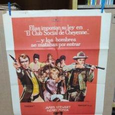 Cine: EL CLUB SOCIAL DE CHEYENNE GENE KELLY JAMES STEWART HENRY FONDA MAC. Lote 222540708