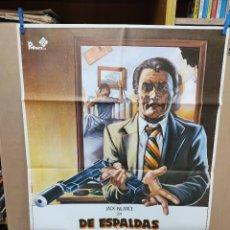 Cine: DE ESPALDAS A LA JUSTICIA JACK PALANCE POSTER ORIGINAL 70X100. Lote 222542131
