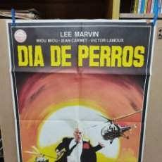Cine: DIA DE PERROS. LEE MARVIN, MIOU MIOU, JEAN CARMET, VICTOR LANOUX. AÑO 1984. Lote 222542966