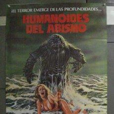 Cinema: CDO 6592 HUMANOIDES DEL ABISMO DOUG MCCLURE ANN TURKEL TERROR POSTER ORIGINAL DEL ESTRENO 70X100. Lote 222546357