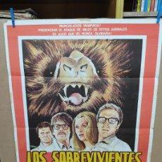 Cine: CARTEL ORIGINAL DE LA PELICULA LOS SOBREVIVIENTES ELEGIDOS. Lote 222592108
