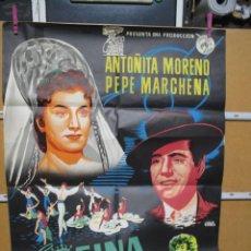 Cine: LA REINA MORA. Lote 222612625