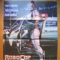 Cine: CARTEL CINE ROBOCOP EL FUTURO REFUERZO DE LA LEY JON DAVISON C1931. Lote 222628712