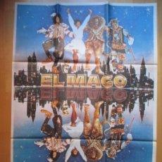 Cine: CARTEL CINE EL MAGO DIANA ROSS MICHAEL JACKSON C1938. Lote 222665943