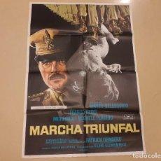 Cine: MARCHA TRIUNFAL CARTEL ORIGINAL ESTRENO 1978 MARCO BELLOCCHIO, FRANCO NERO, MIOU MIOU. Lote 222666473