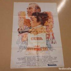 Cine: CUBA CARTEL ORIGINAL ESTRENO 1980 RICHARD LESTER, SEAN CONNERY, BOOKE ADAMS. Lote 222672275