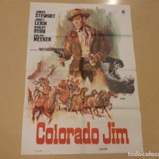 Cine: COLORADO JIM CARTEL ORIGINAL REPOSICIÓN 1982 ANTHONY MANN, JAMES STEWART. Lote 222673048