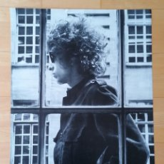 Cine: POSTER BOD DYLAN LONDON MAY 1966 BLANCO Y NEGRO LONDRES , POPLAND. Lote 222819200