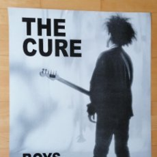 Cine: POSTER THE CURE BOYS DON´T CRY ROBERT SMITH, POPLAND. Lote 222819976