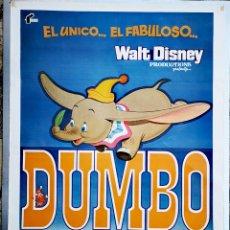 Cine: DUMBO - 70 X 100 - 1977. Lote 222834603