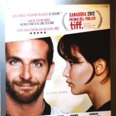 Cine: EL LADO BUENO DE LAS COSAS - 2012 - 70 X 100. Lote 222839645
