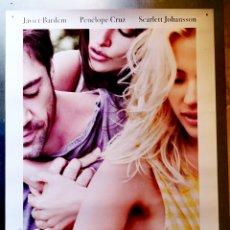 Cine: VICKY CRISTINA BARCELONA - WOODY ALLEN - 2008 - 70 X 100. Lote 222840113