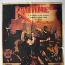 Cine: RAGTIME, CON JAMES CAGNEY. PÓSTER. 69 X 100 CMS.. Lote 222843666