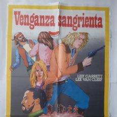 Cine: ANTIGUO CARTEL CINE VENGANZA SANGRIENTA R55. Lote 223045850