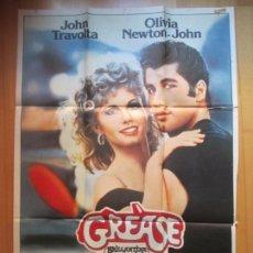 Cine: CARTEL CINE GREASE OLIVIA NEWTON-JOHN JOHN TRAVOLTA 1978 C1954. Lote 223218488