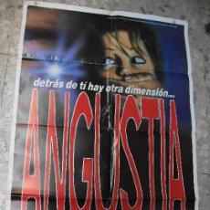 Cine: ANGUSTIA DE BIGAS LUNA ZELDA RUBINSTEIN MICHAEL LERNER CARTEL DE CINE 100 X 70 CM. POSTER ESPAÑA. Lote 223258101