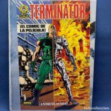 Cine: PÓSTER - CARTEL PUCLICITARIO TERMINATOR ¡ANIQUILACIÓN! - EL COMIC DE LA PELÍCULA - 57X37 CM - NORMA. Lote 223387475