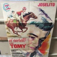 Cine: EL SECRETO DE TOMY JOSELITO POSTER ORIGINAL 70X100 YY (2455). Lote 223574092