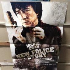 Cine: NEW POLICE STORY JACKIE CHAN POSTER ORIGINAL 70X100 YY (2459). Lote 223577423