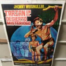 Cine: TARZAN EN EL DESIERTO MISTERIOSO JOHNNY WEISSMULLER POSTER ORIGINAL 70X100 YY (2463). Lote 223588863