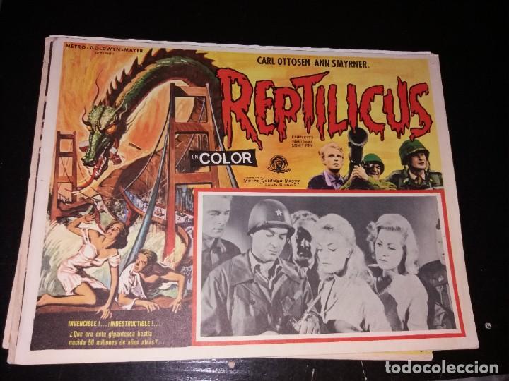 LOBBY CARD DIFÍCIL (Cine - Posters y Carteles - Ciencia Ficción)