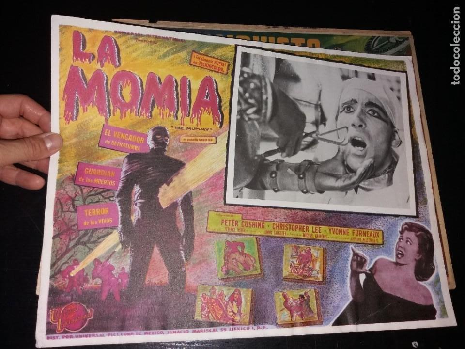DIFÍCIL LOBBY CARD (Cine - Posters y Carteles - Ciencia Ficción)