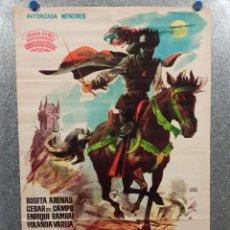 Cine: LA SOMBRA DE CRUZ DIABLO. ROSITA ARENAS, CÉSAR DEL CAMPO, ENRIQUE RAMBAL, YOLANDA VARELA. AÑO 1961. Lote 223907808