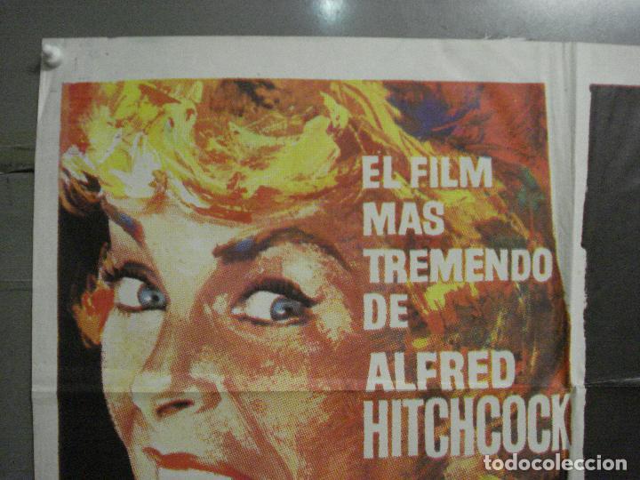 Cine: AAP51D PSICOSIS psycho ALFRED HITCHCOCK PERKINS MAC POSTER ORIGINAL 70X100 ESPAÑOL R-71 - Foto 2 - 223959527