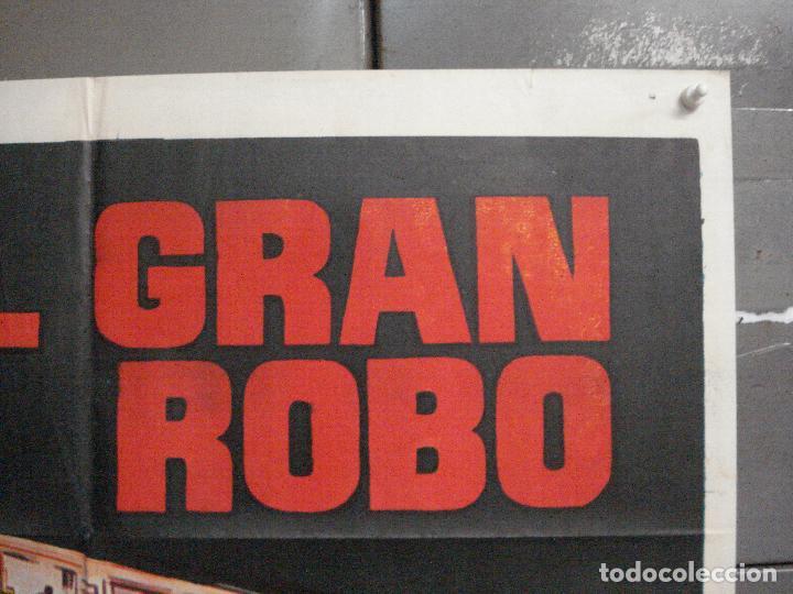 Cine: CDO 6834 EL GRAN ROBO STANLEY BAKER PETER YATES POSTER ORIGiNAL 70X100 ESTRENO - Foto 6 - 223963415