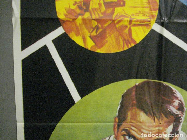 Cine: CDO 6836 SUPER 7 LLAMA A EL CAIRO ROGER BROWNE LENZI EURO SPY POSTER ORIGINAL 70X100 ESTRENO - Foto 3 - 223968671