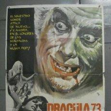 Cinéma: CDO 6839 DRACULA 73 HAMMER CRISTOPHER LEE PETER CUSHING MCP POSTER ORIGINAL ESTRENO 70X100. Lote 223971626