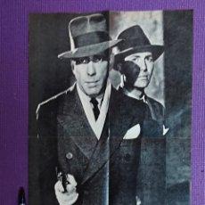 Cinema: HUMPHREY BOGART JEFFREY LYNN · IT ALL CAME TRUE CINE-POSTER 13 Nº135 AVANT-SCENE AVRIL 1973. Lote 223975293