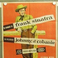 Cine: AAW34D JOHNNY EL COBARDE FRANK SINATRA MCP POSTER ORIGINAL 70X100 ESTRENO LITOGRAFIA. Lote 224007886