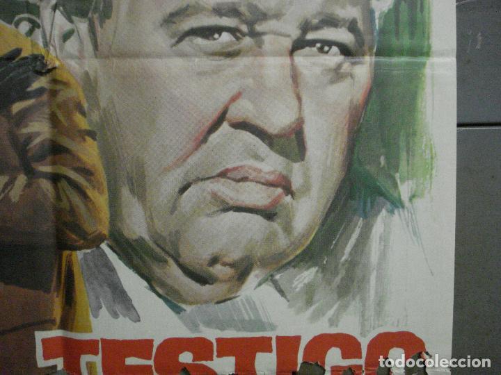 Cine: CDO 6860 TESTIGO DE CARGO MARLENE DIETRICH AGATHA CHRISTIE JANO POSTER ORIG 70X100 ESPAÑOL R-69 - Foto 7 - 224072452