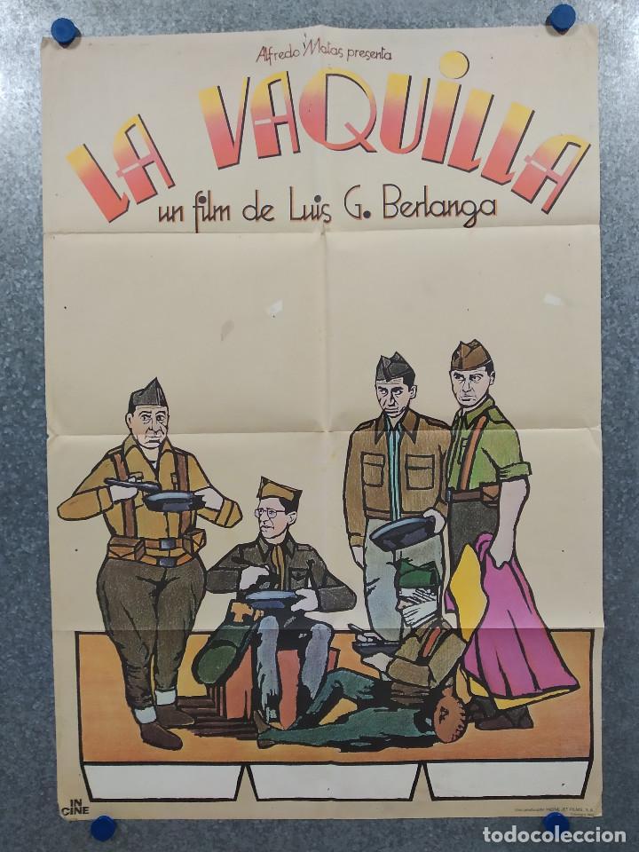 LA VAQUILLA. BERLANGA, ALFREDO LANDA, SANTIAGO RAMOS, JOSÉ SACRISTÁN AÑO 1985. POSTER ORIGINAL (Cine - Posters y Carteles - Clasico Español)