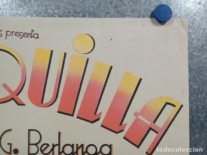 Cine: La vaquilla. BERLANGA, Alfredo Landa, Santiago Ramos, José Sacristán AÑO 1985. POSTER ORIGINAL - Foto 4 - 224081800