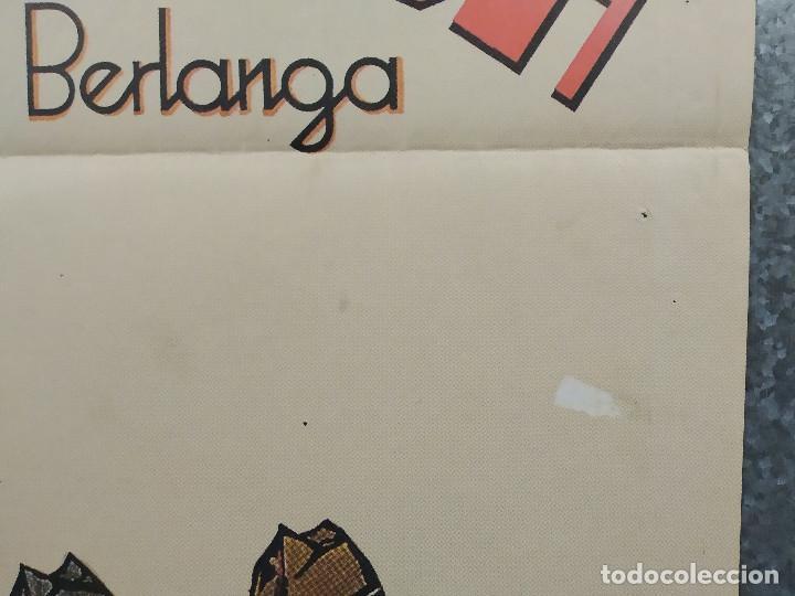 Cine: La vaquilla. BERLANGA, Alfredo Landa, Santiago Ramos, José Sacristán AÑO 1985. POSTER ORIGINAL - Foto 5 - 224081800