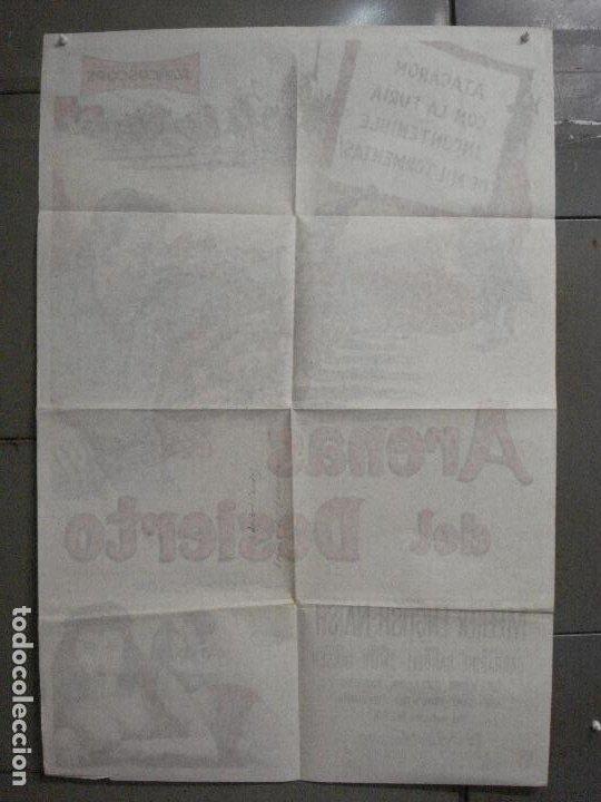 Cine: AAP78 DESERT SANDS RALPH MEEKER MARLA ENGLISH LEGION POSTER ORIGINAL ARGENTINO 75X110 LITOGRAFIA - Foto 10 - 224156793