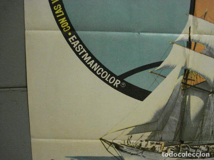 Cine: CDO 6891 ESE MUNDO MARAVILLOSO FLYING CLIPPER DOCUMENTAL MAC POSTER ORIGINAL 70X100 ESTRENO - Foto 4 - 224197025