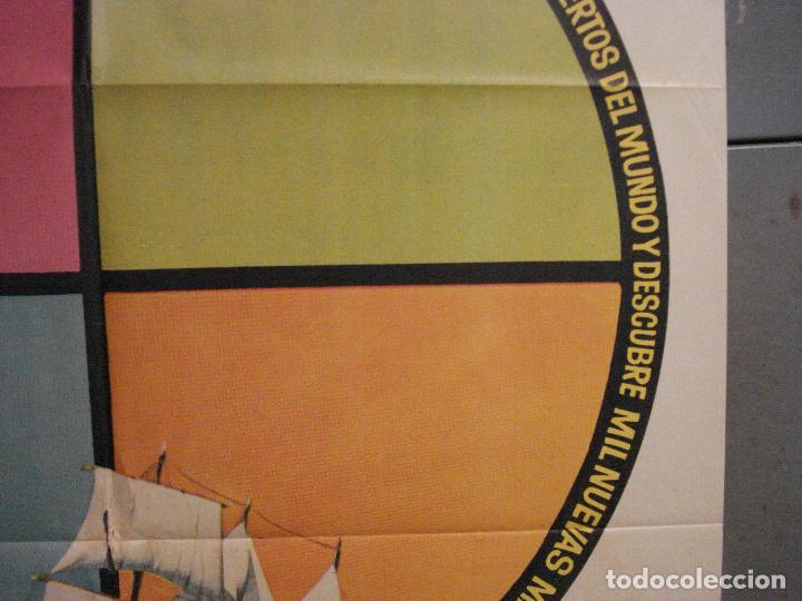Cine: CDO 6891 ESE MUNDO MARAVILLOSO FLYING CLIPPER DOCUMENTAL MAC POSTER ORIGINAL 70X100 ESTRENO - Foto 7 - 224197025